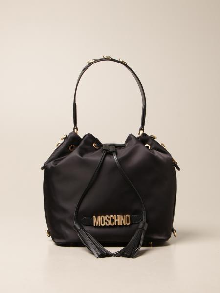 Schultertasche damen Moschino Couture