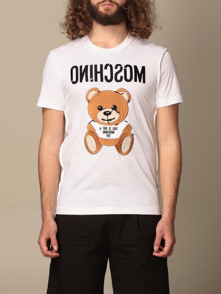 T-shirt Moschino Couture con stampa teddy