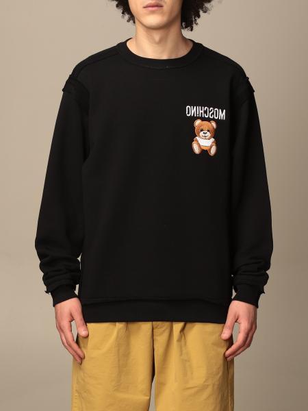Moschino Couture crewneck sweatshirt with teddy logo