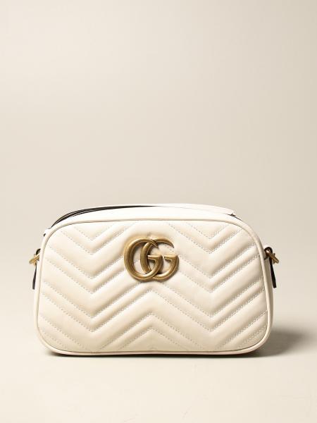 Gucci 女士: Gucci Marmont 皮革绗缝手提包