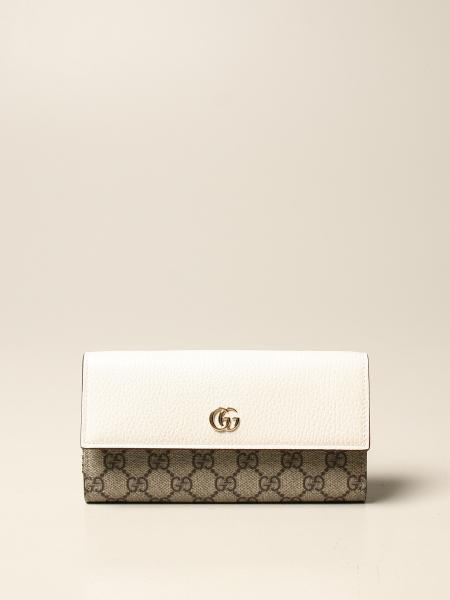 Gucci 女士: Gucci Marmont GG Supreme面料和皮革手袋