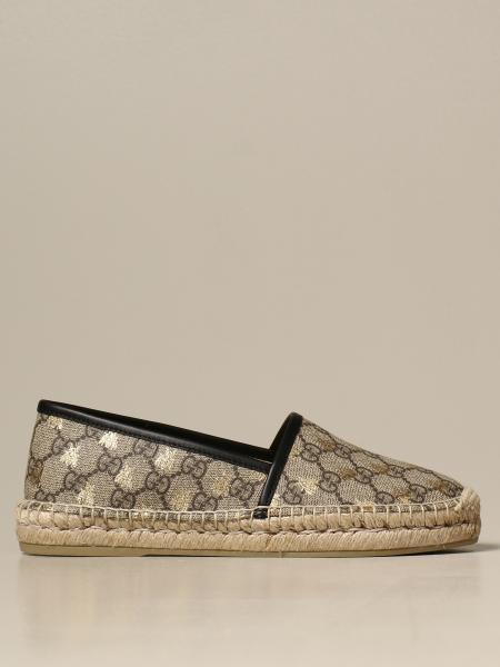 Gucci espadrilles in GG Supreme fabric with bees
