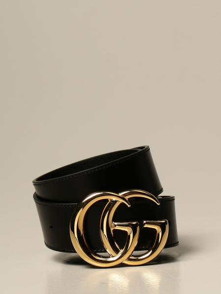 Marmont Gucci leather belt