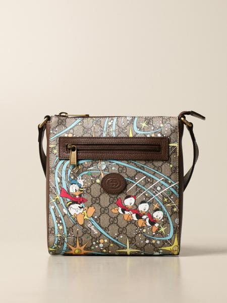 Donald Duck Disney x Gucci bag in GG Supreme fabric
