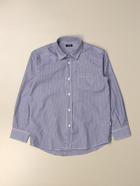 Il Gufo shirt in striped cotton
