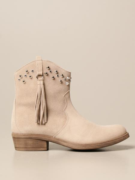 Twin-set Texan ankle boot in suede