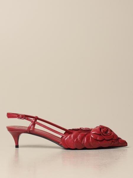 Valentino Garavani Atelier Shoes Rose Edition 03 leather slingback
