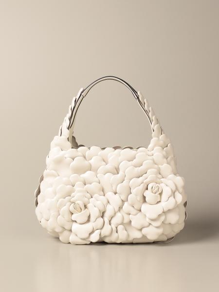Valentino women: Valentino Garavani small Atelier Bag 03 Rose Edition bag in nappa leather