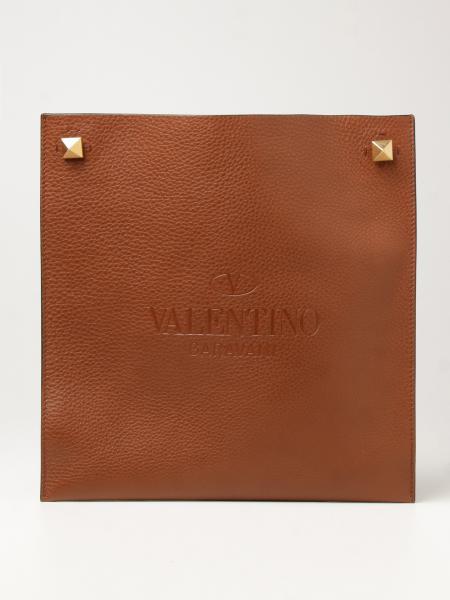 Valentino: Borsa Valentino Garavani in pelle martellata