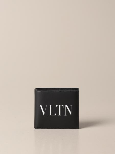Valentino Garavani purse with VLTN logo in leather