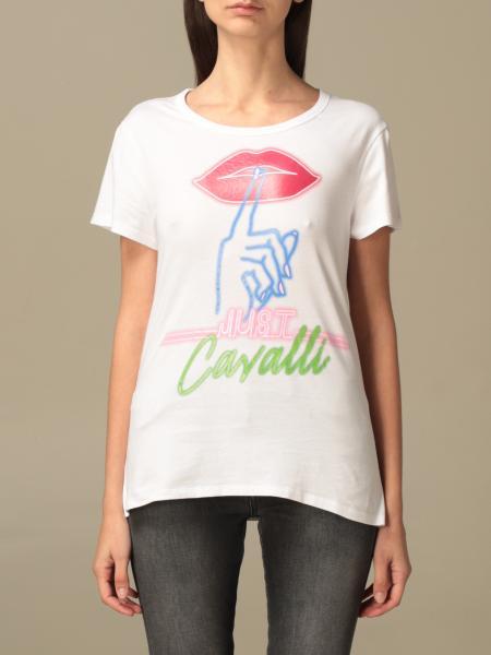 Just Cavalli: Just Cavalli T-shirt with big print