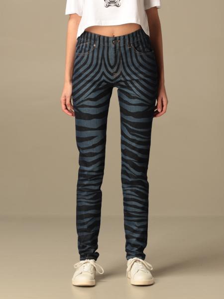 Just Cavalli: Just Cavalli jeans in animalier denim