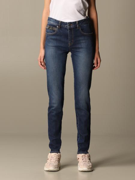 Just Cavalli: Just Cavalli jeans in used denim
