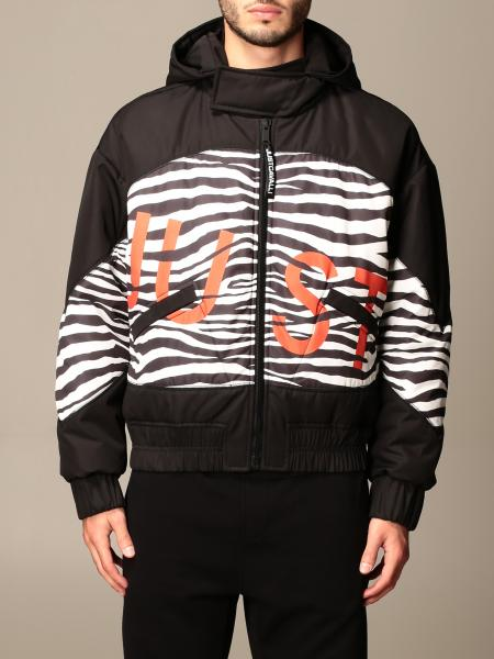 Bomber Just Cavalli in nylon con logo