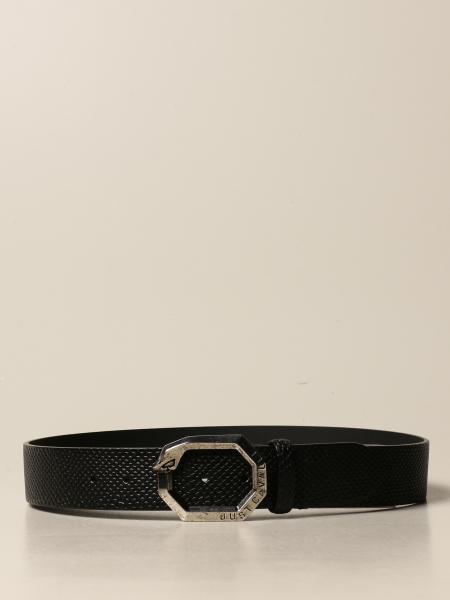 Cintura Just Cavalli in pelle con stampa rettile