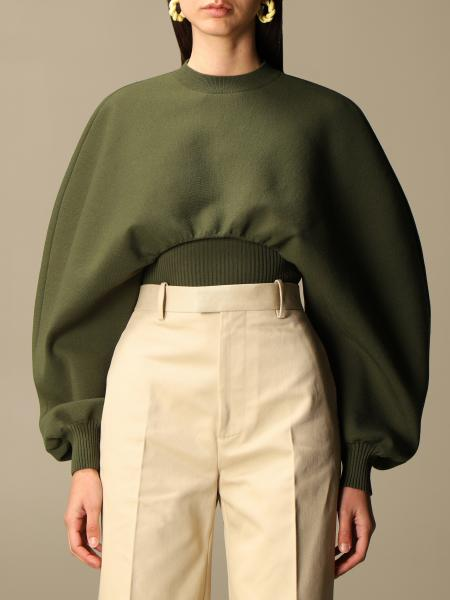 Bottega Veneta 雕刻袖子毛衣