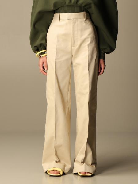 Bottega Veneta wide cotton trousers