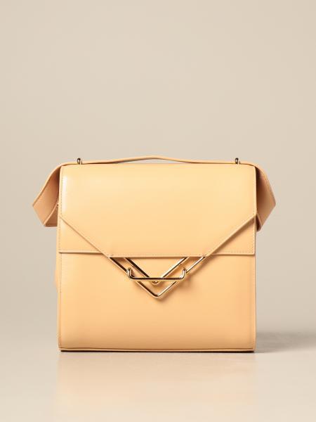 Bottega Veneta women: The Clip Bottega Veneta leather bag