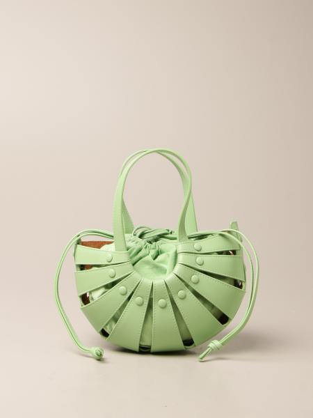 Bottega Veneta women: The Shell Bottega Veneta bag in cut out leather