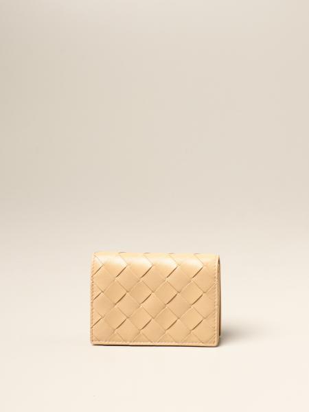 Porta carte Bottega Veneta in pelle intrecciata