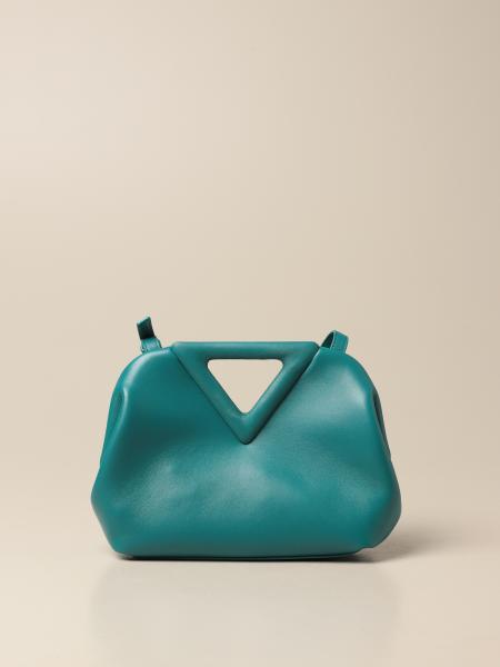 Bottega Veneta women: Bottega Veneta Point Salon 01 leather bag