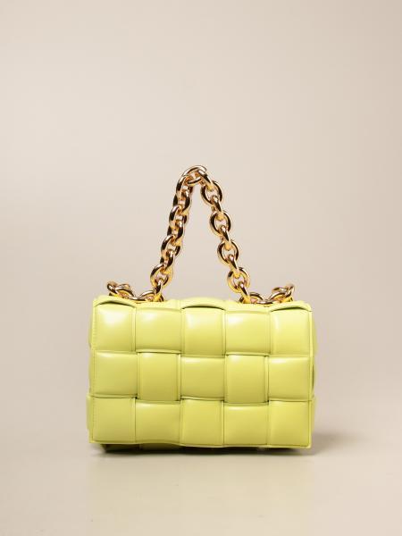 Bottega Veneta women: The Chain Padded Cassette Bottega Veneta bag in woven nappa