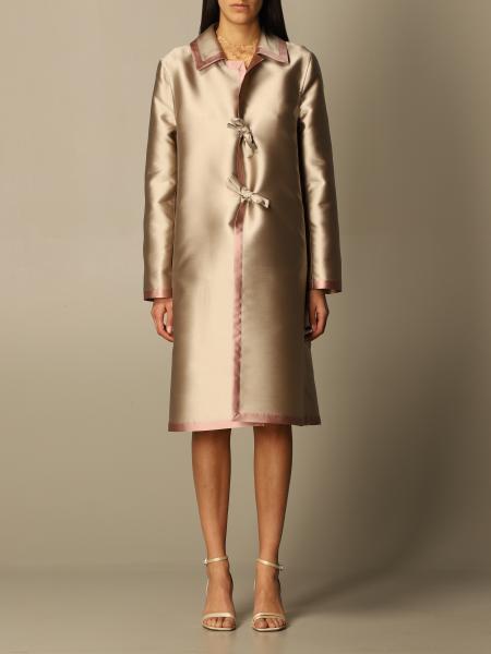 Alberta Ferretti: Пальто Женское Alberta Ferretti
