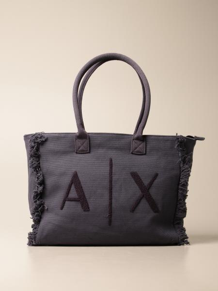 Armani Exchange shopping bag with logo