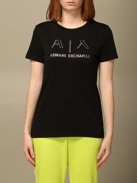 Armani Exchange: Mezza manica girocollo logo