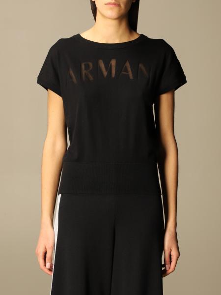 Armani Exchange: Mezza manica logo