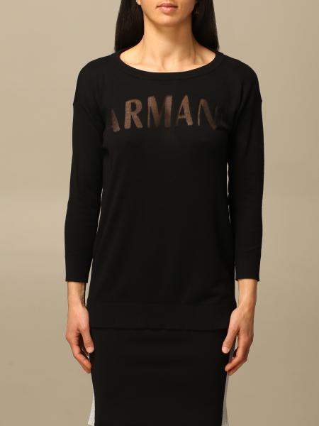 Armani Exchange: Girocollo logo