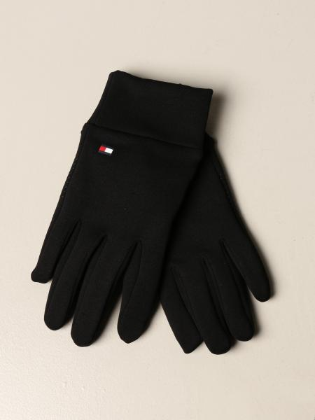 Antibacterial Hilfiger Collection gloves with logo