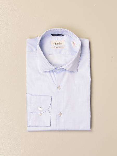 Brooksfield shirt in superfine cotton