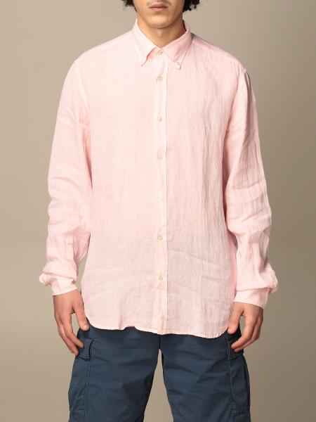 Brooksfield linen shirt with button down collar