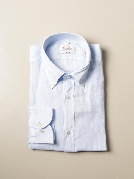Brooksfield linen shirt with button down collar