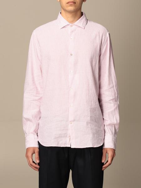 Brooksfield shirt in drumstick linen