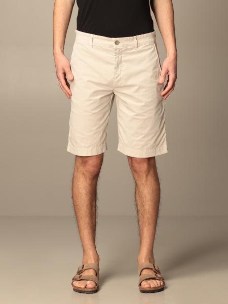 Brooksfield Bermuda shorts in stretch gabardine
