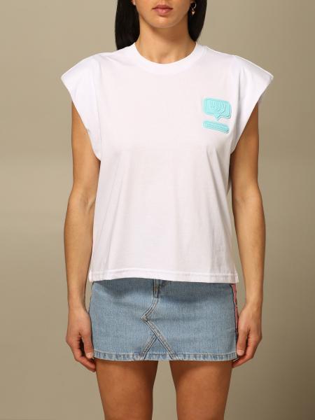 Chiara Ferragni women: T-shirt women Chiara Ferragni