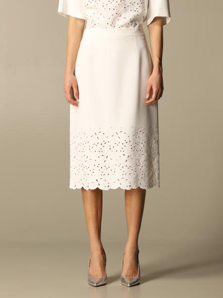Ermanno Scervino: Ermanno Scervino skirt with Sangallo inserts