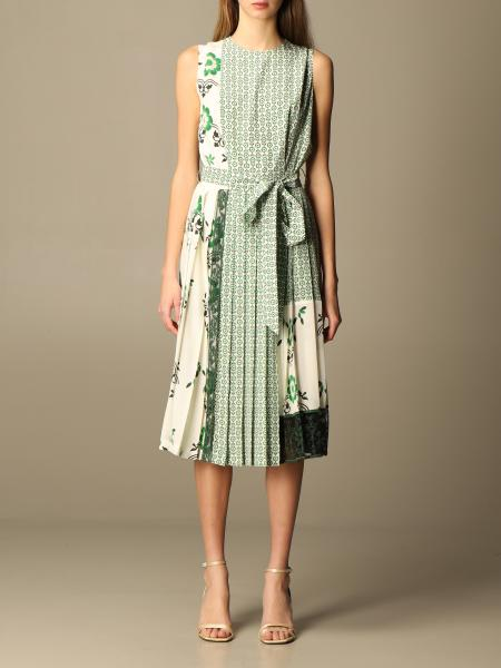 Ermanno Scervino: Ermanno Scervino dress in patterned silk