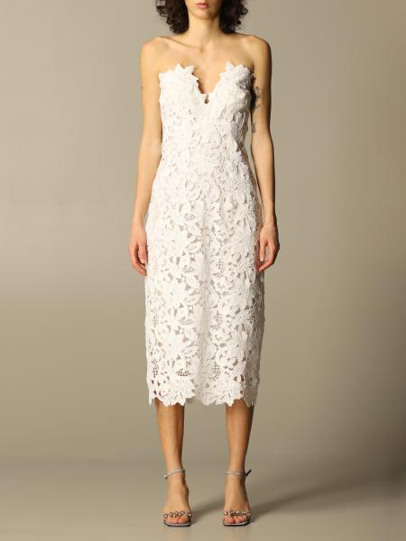 Ermanno Scervino: Ermanno Scervino lace midi dress