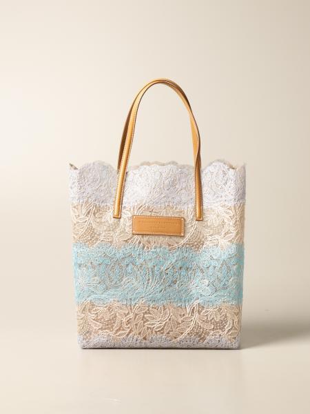 Seeds Of Love Ermanno Scervino lace shopper bag