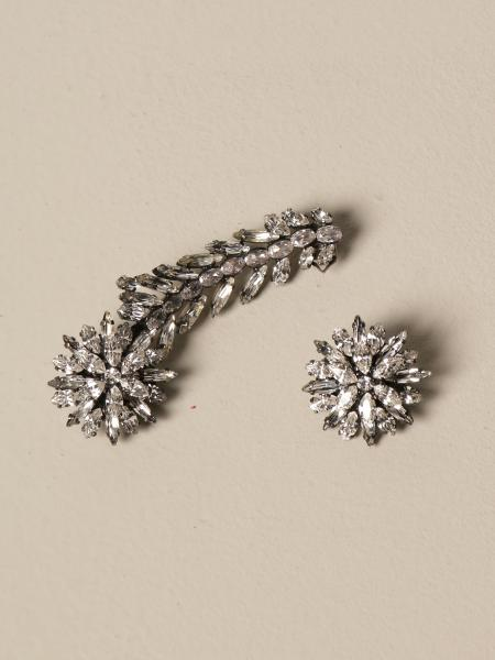 Ermanno Scervino: Ermanno Scervino crystal earrings