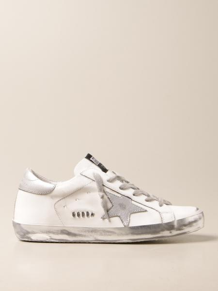 Sneakers Superstar classic Golden Goose in pelle