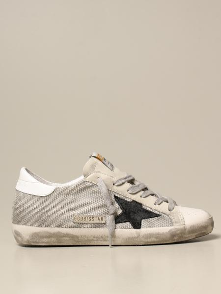 Golden Goose: Superstar classic Golden Goose sneakers in mesh