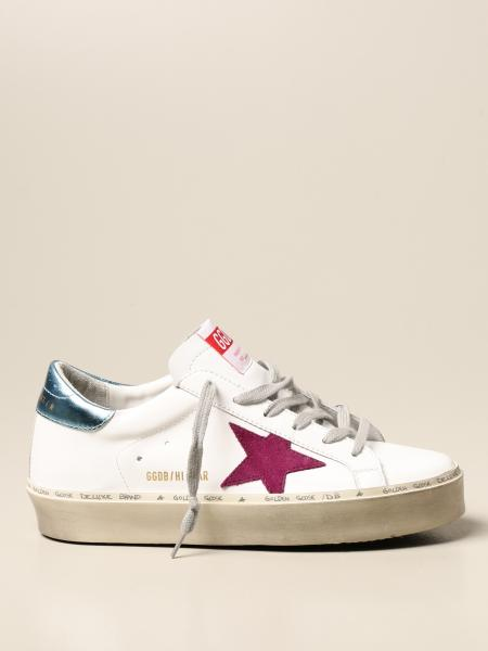 Golden Goose: Hi Star classic Golden Goose sneaker in leather