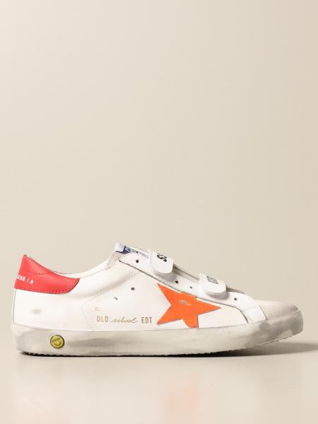 Sneakers Old School Golden Goose in pelle