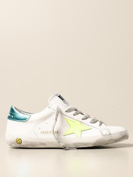 Sneakers Superstar classic Golden Goose in pelle
