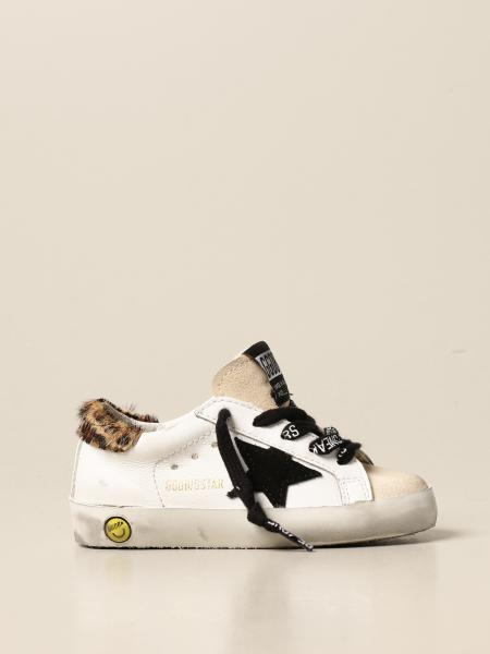 Golden Goose bambino: Sneakers Superstar classic Golden Goose in pelle