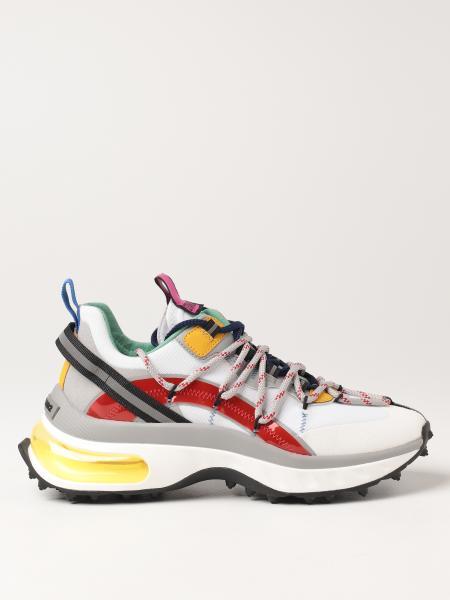 Sneakers Bubble Dsquared2 in multi materiale
